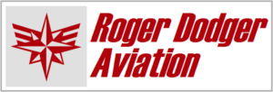 Roger Dodger logo and name 2xsize