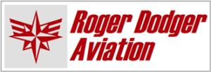 Roger Dodger logo and name