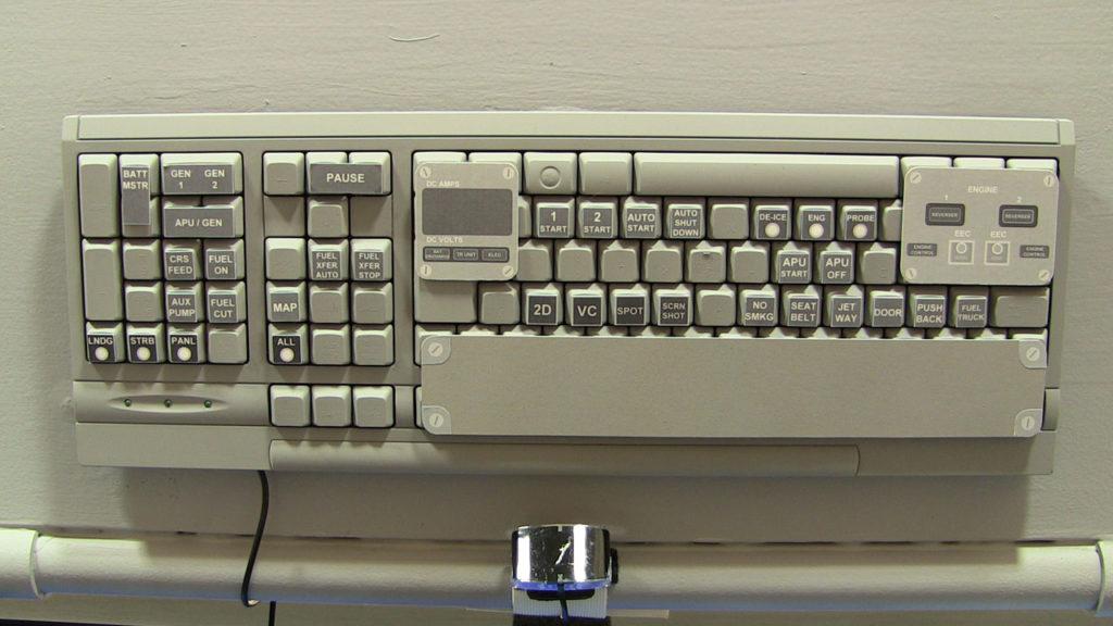ovehead control panel