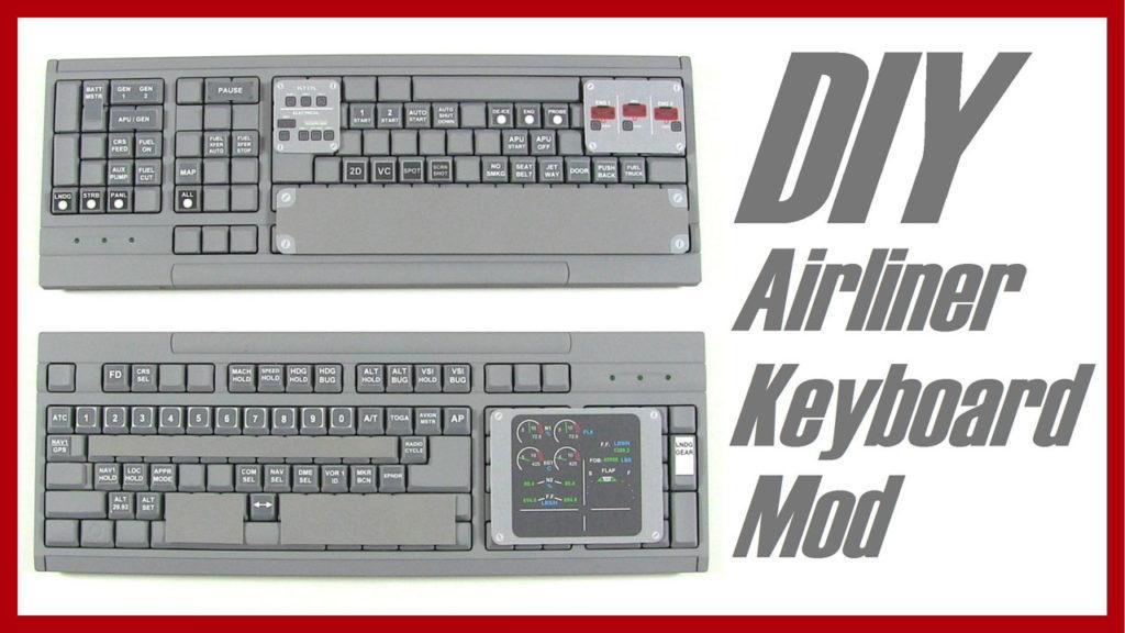 DIY Airliner Keyboard Mod