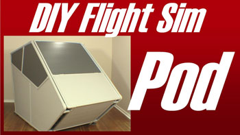 Extreme DIY Flight Sims - E430 Flight Sim Pod