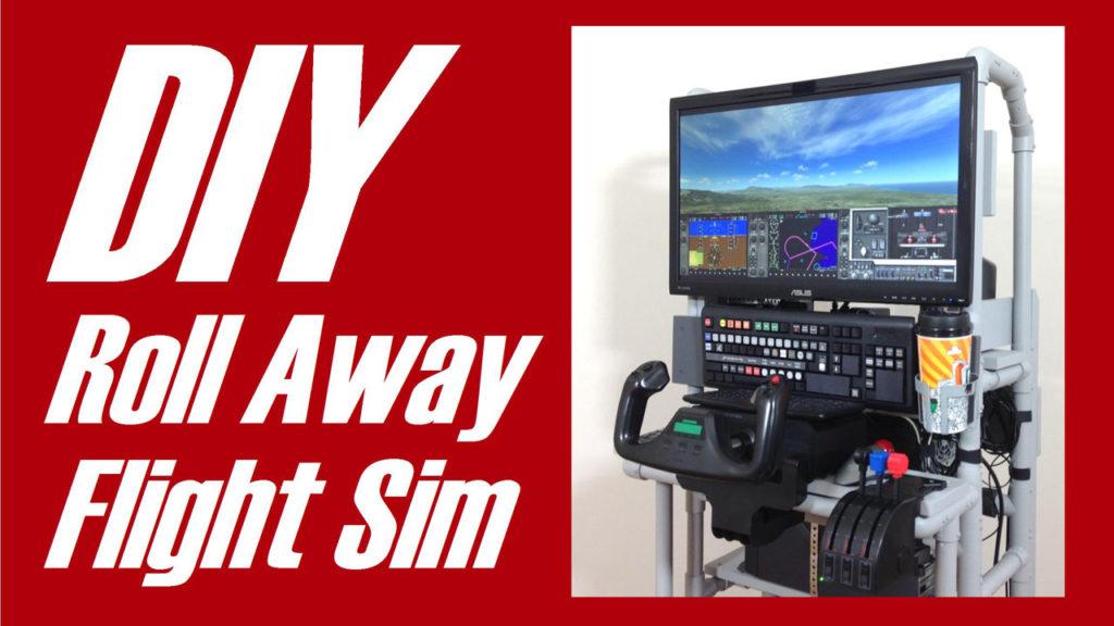 DIY Roll-Away Flight Sim