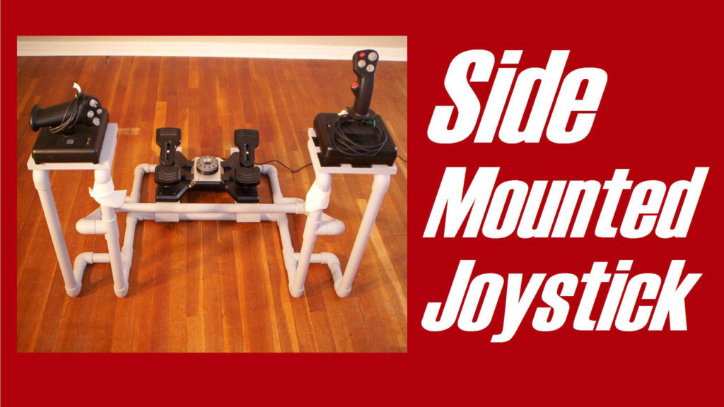 DIY Side Mounted Joystick Frame
