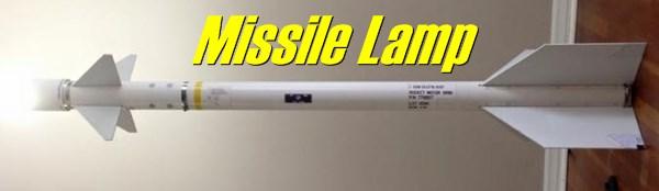 Missile Lamp!