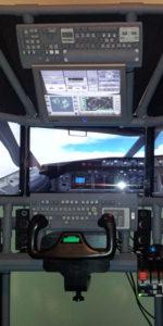 T440 quad screen flight sim by Josh