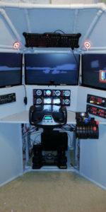 T440 Triple Screen Flight Sim customer completion