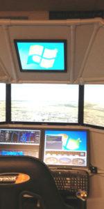 Six Screen Home Flight Simulator