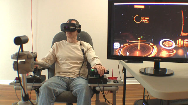 Virtual Reality for Flight Simulator