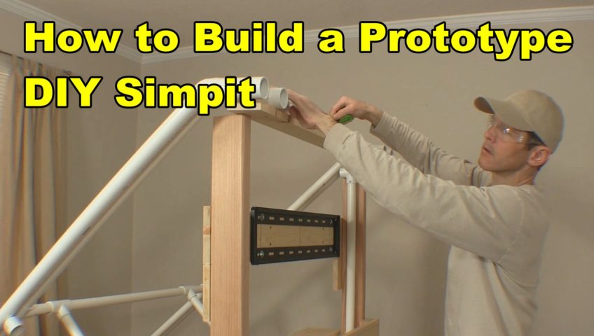 How to Build a Prototype DIY Simpit