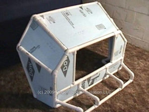 unpainted flight sim enclosure
