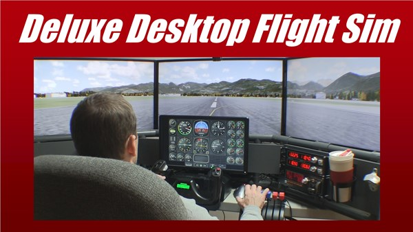 DIY Deluxe Desktop Flight Sim
