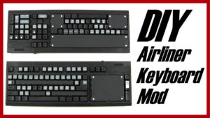unpainted modified keyboard panels