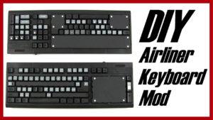 unpainted modified keyboard panels
