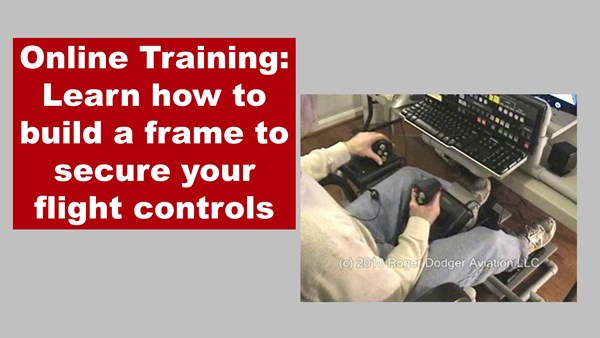 Online Training: DIY Center Joystick Frame