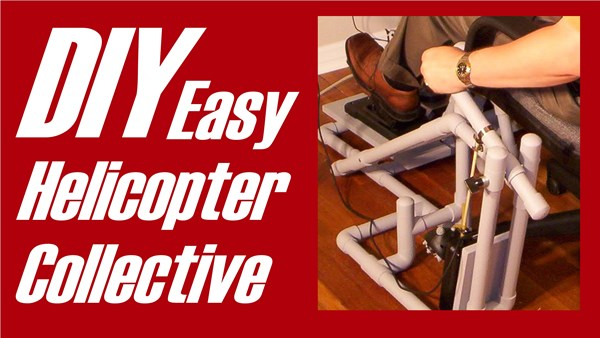 DIY Easy Helicopter Sim Collective