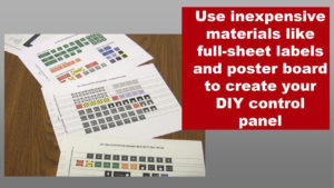 full-sheet button labels