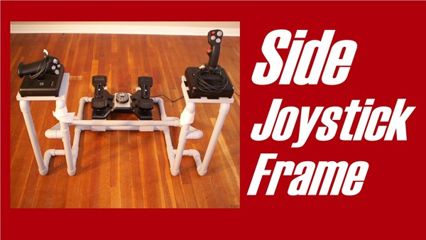 DIY Side Joystick Frame - F-16 viper (1)