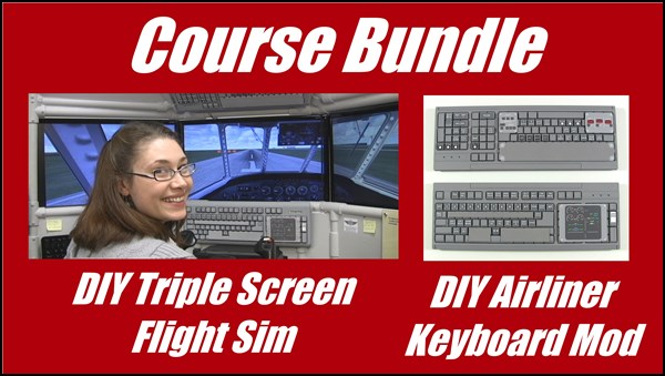 DIY Triple Screen Flight Sim online course