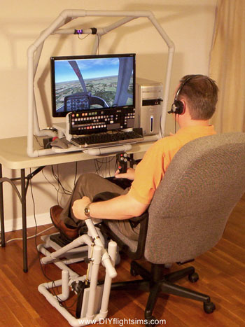 Homemade flightsim helicopter