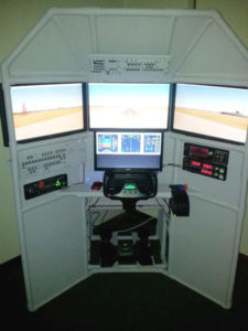 DIY Triple Screen flight sim