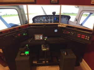 Deluxe Desktop home Flight Sim