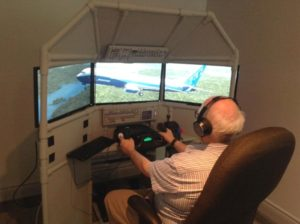 Wayne's FSX Triple Screen Flight Sim