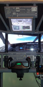 T440 quad screen flight sim by Josh