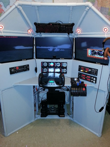 T440 Triple Screen Flight Sim customer completion