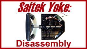 See inside the Saitek Pro Flight Yoke