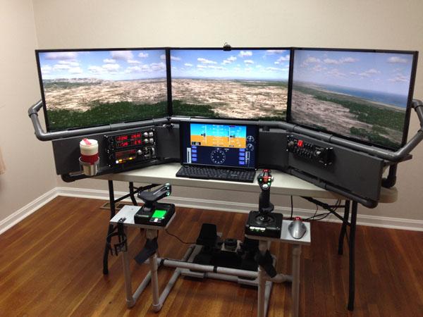 Diy Flight Simulator Chair Diy Projects