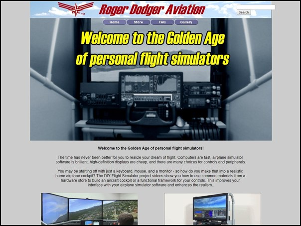 Golden Age of flight simulators