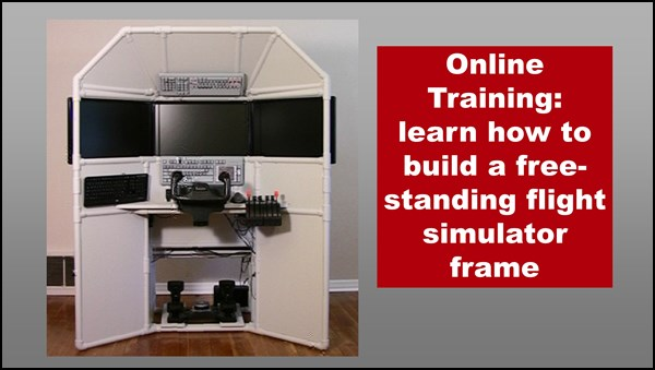 Diy triple screen flight simulator online tutorials for Online house builder simulator