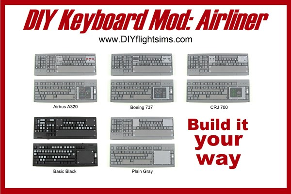 DIY Airliner Keyboard Mod, build it your way