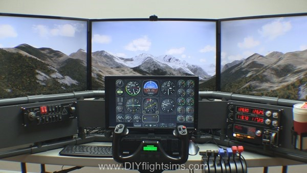 Air Manager with the DIY Deluxe Desktop Flight Sim