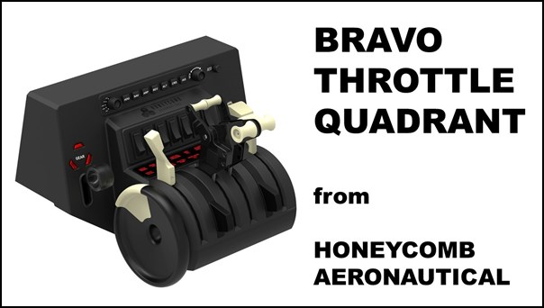 Bravo Throttle Quadrant from Honeycomb Aeronautical