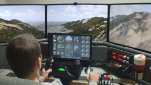 Home Flight Simulator Equipment