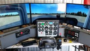 D250B Deluxe Desktop Flight Sim, Vince