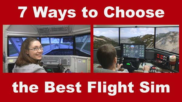 Home Flight Simulator for Sale, 7 Ways to Choose