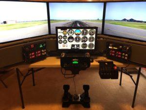DIY Deluxe Desktop Flight Sim by Al