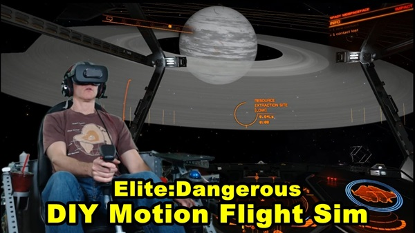 Elite Dangerous Motion Flight Simulator