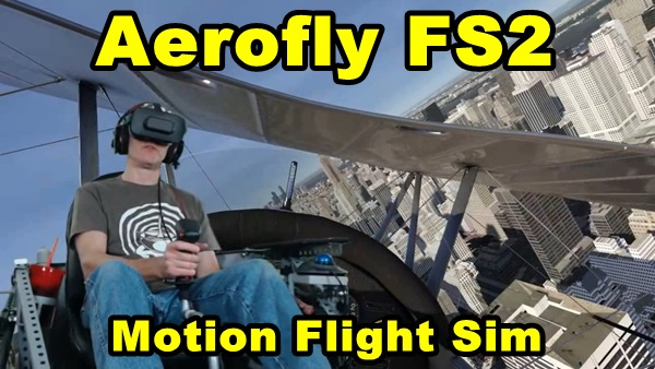 I fly the Motion Flight Simulator for Aerofly FS2