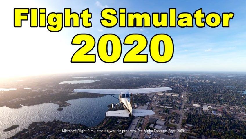 Flight Simulator 2020 Pre-Alpha